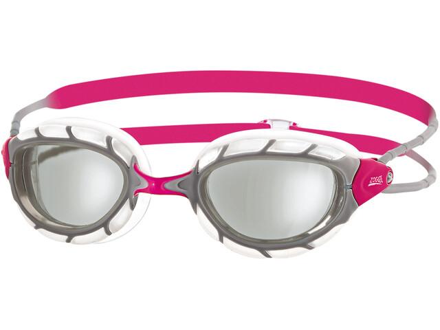Zoggs Predator Goggles Dames, clear/silver